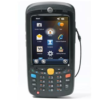 Image of Zebra MC55A0 Mobile Terminal from Emkat.