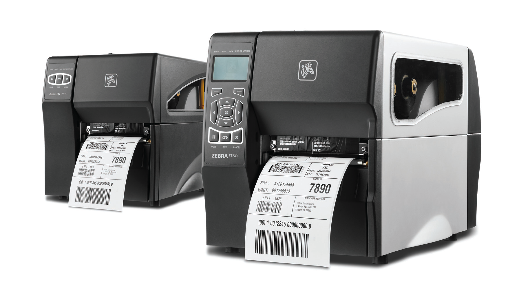 Image of Zebra ZT200 Series Printer from Emkat.