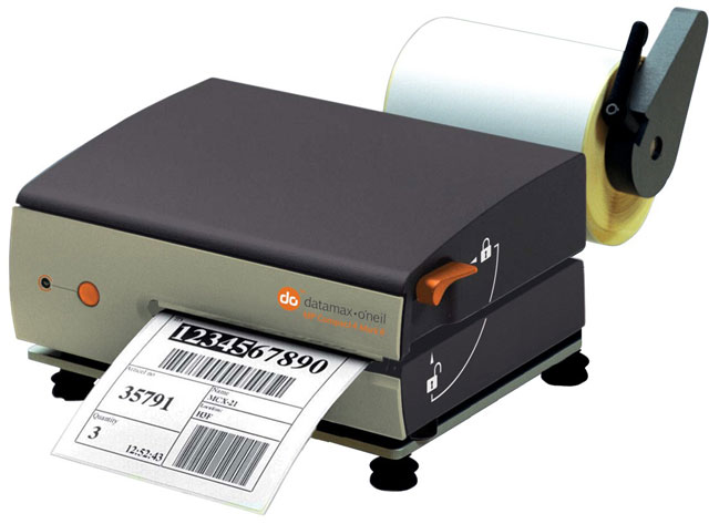 Image of Datamax-O'Neil Compact4 Mark II Mobile Printer from Emkat.