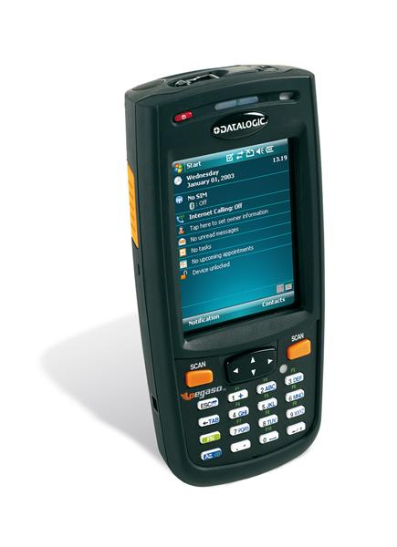 Image of Datalogic Pegaso Route Delivery Handheld Mobile Computer from Emkat.