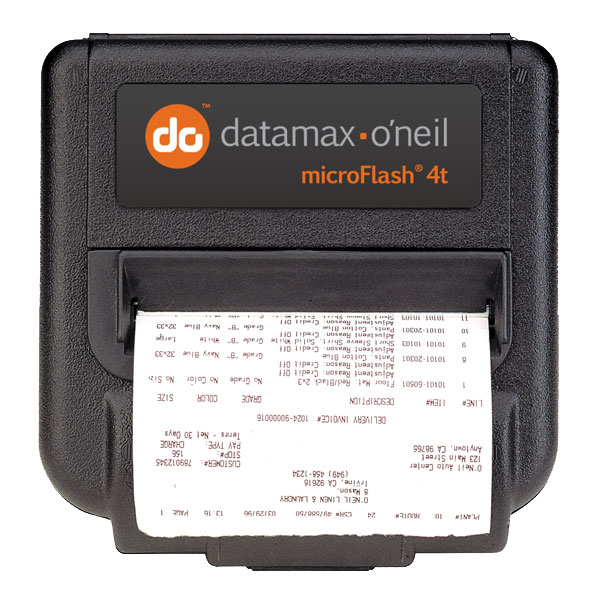 Image of Datamax-O'Neil microFlash 4t/4te Mobile Printer from Emkat.