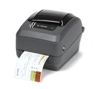 Image of Zebra GX430t Desktop Printer from Emkat.