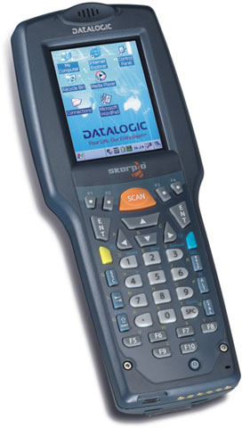 Image of Datalogic Skorpio Mobile Barcode Computer from Emkat.